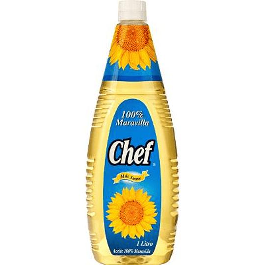 Aceite maravilla Chef 1 litro