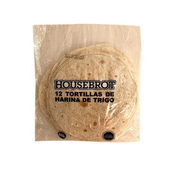 Tortillas Housebrot Ideal 12 x 25 cm