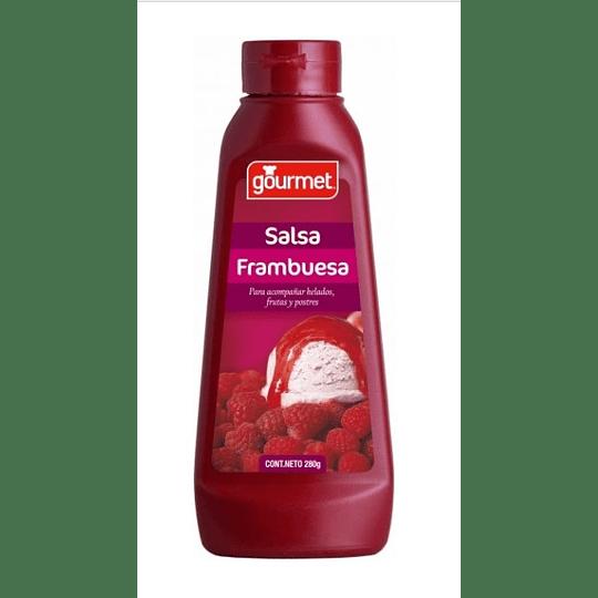Salsa framb/choco Gourmet 280 g