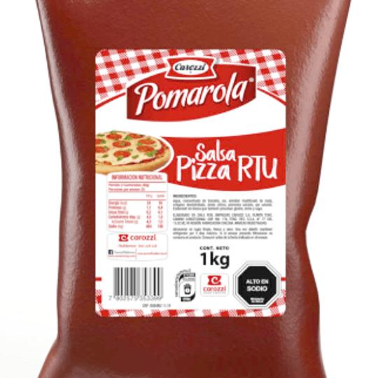 Salsa de tomate para pizza Carozzi Kilo