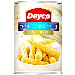 Choclito Cóctel Entero Deyco 425 g