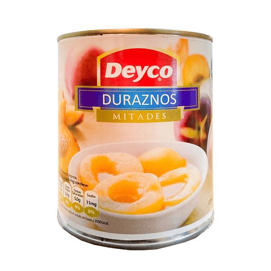 Durazno Mitad Deyco 820 g