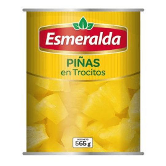 Piña en trocitos Esmeralda 565 g