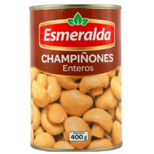 Champiñón entero Esmeralda 400 g