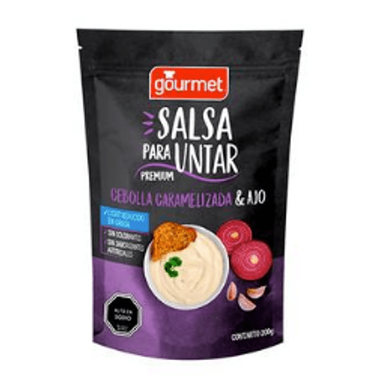Salsa Cebolla Caramelizada y Ajo Gourmet 200 g