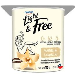 Yogur Danone Light and Free 115 g