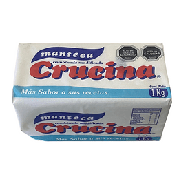 Manteca Crucina kilo