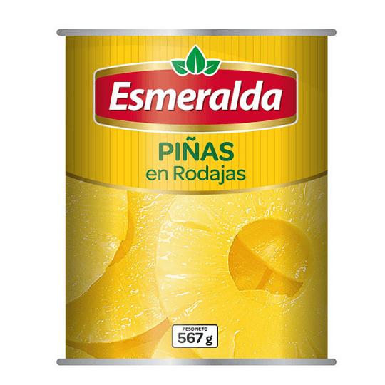 Piña en rodajas Esmeralda 567 g