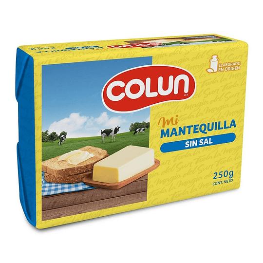 Mantequilla Pan Colun Sin Sal 250 g