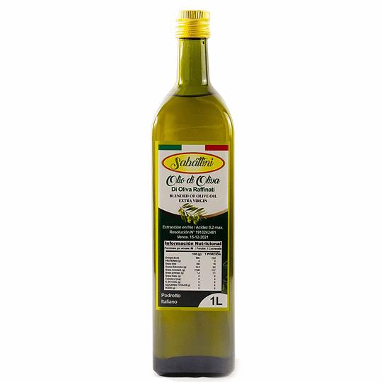 Aceite de oliva litro Sabattini