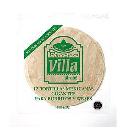 Tortillas mexicanas grandes Pancho Villa Carozzi 810 g