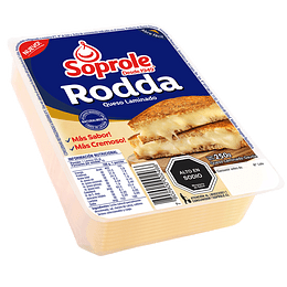 Queso Rodda Laminado Soprole 500 g