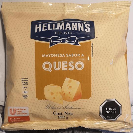 Salsa Queso Hellmann's 980 g