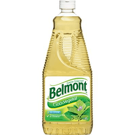 Aceite vegetal Belmont litro