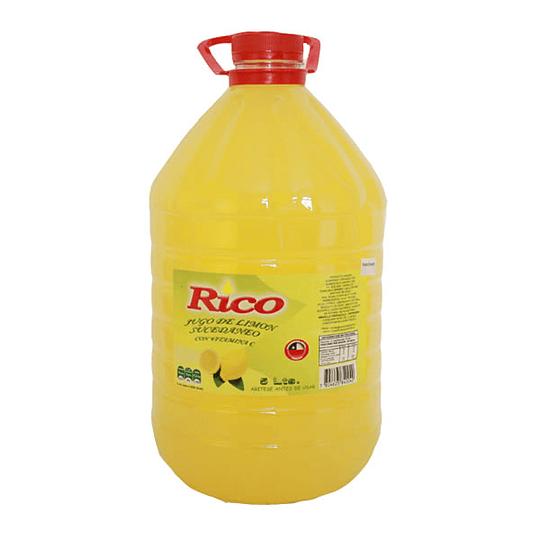 Jugo de limón Rico 5 litros