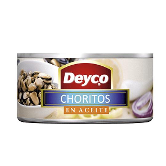 Choritos en aceite Deyco 190 g