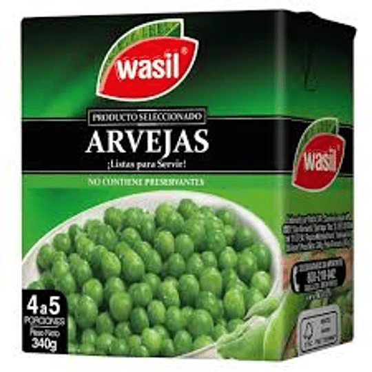 Arvejas Wasil 500 g