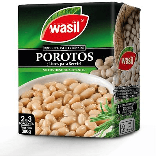 Poroto Granado Wasil 380 g