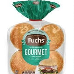 Pan hamburguesa Fuchs 8 un