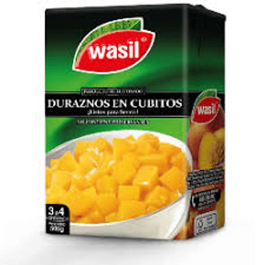 Durazno cubos Wasil 500 g