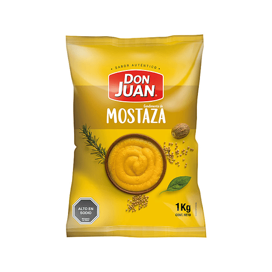 Mostaza Don Juan Kilo