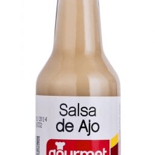 Salsa ajo Gourmet 165 cc