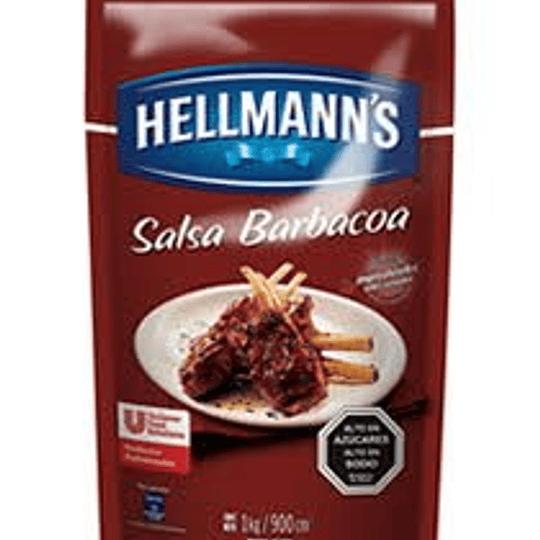 Salsa barbecue Hellmann's kilo