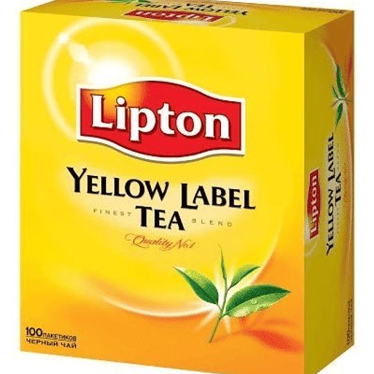 Té Lipton 100 un