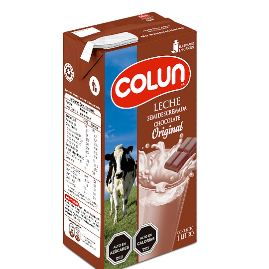 Leche chocolatada Colun 1 litro