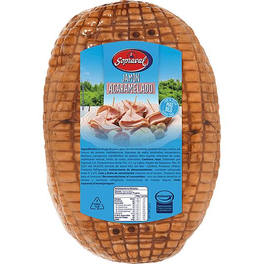 Jamón Pavo Acaramelado Sopraval 250 g
