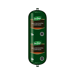 Salchichón Cerveza  San Jorge 250 g