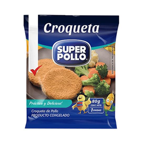 Croqueta pollo Agrosuper 80 g