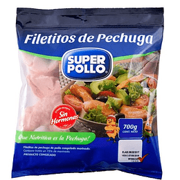 Filetes pollo Agrosuper 700 g
