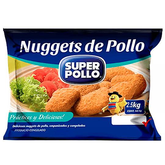 Nugget pollo Agrosuper 2.5 kg