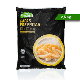 Papas Global Frozen 2.5 kilos