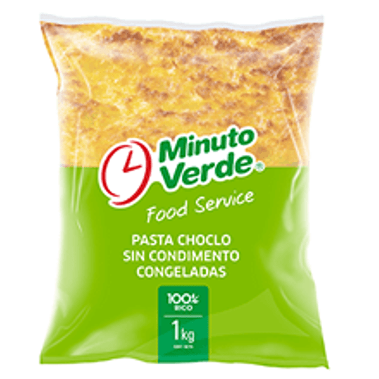 Pasta de Choclo Minuto Verde kilo