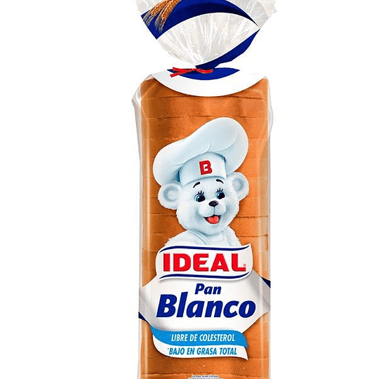Pan molde blanco Ideal 560 g