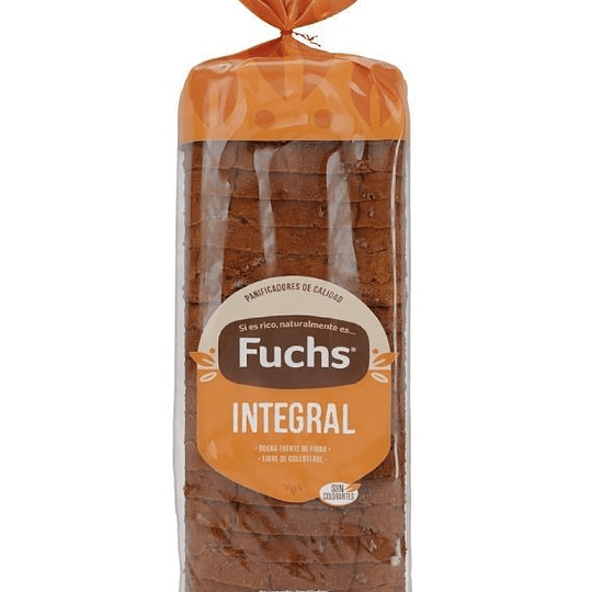 Pan molde integral Fuchs 650 g
