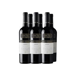 Merlot Gran Reserva Viña Santa Ema Caja 6 botellas