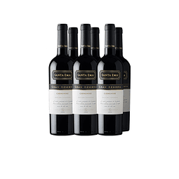 Carmenere Gran Reserva Viña Santa Ema  Caja 6 botellass