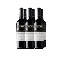 Cabernet Sauvignon   Gran Reserva Viña Santa Ema Caja 6 Botellas