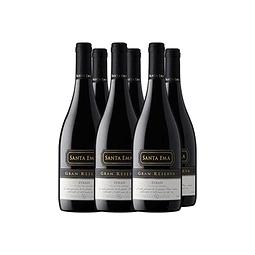 Syrah Gran Reserva Viña Santa Ema 6 botellas