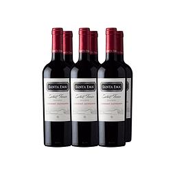 Cabernet Sauvignon Select Terroir Reserva  Viña Santa Ema 6 botellas
