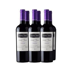 Carmenere Select Terroir Reserva Viña Santa Ema 6 botellas