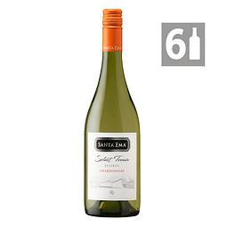 Pack 6 Chardonnay Select Terroir Reserva - Viña Santa Ema
