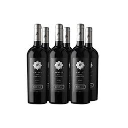 Amplus One Carmenere  Viña Santa Ema Caja de 6  botellas