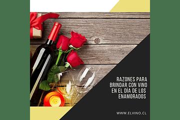 Razones para brindar con vino en el Día de los Enamorados