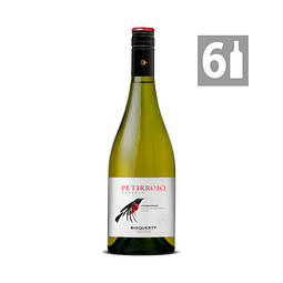 Pack 6 Petirrojo Chardonnay Reserva - Viña Bisquertt