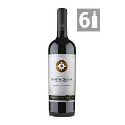 Pack 6 Cabernet Sauvignon Gran Reserva Santa Digna - Viña Miguel Torres