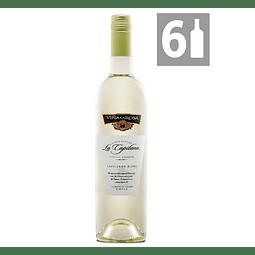 Pack 6 La Capitana Sauvignon Blanc Reserva - Viña La Rosa